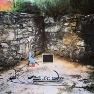 My rig setup in the barn ruins